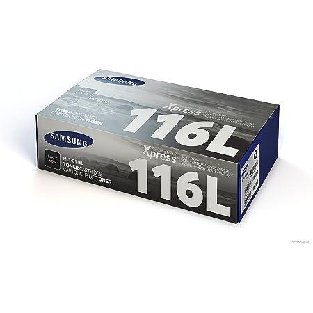 Samsung Mlt D116l Schwarz Original Toner Hohe Reichweite Bürobedarf Schreibwaren