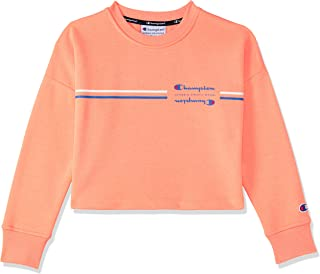 Champion Kids Sporty Cropped Pullover Crew