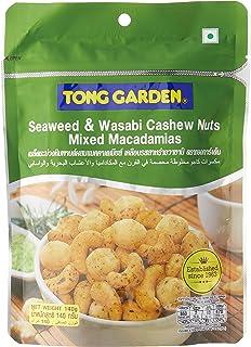 Tong Garden Seaweed & Wasabi Cashew Nuts Macadamias Mix, 140g