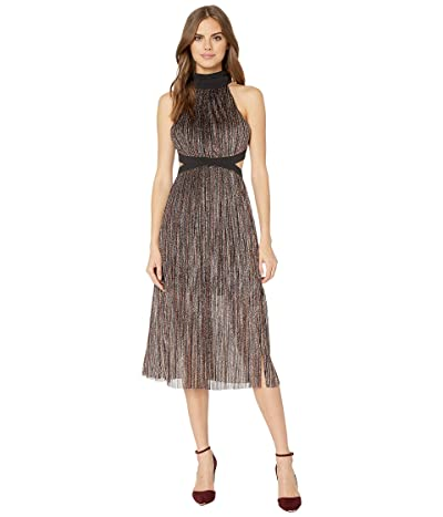 BCBGeneration Mock Neck Bow Back Dress TKW6245043 (Multi) Women