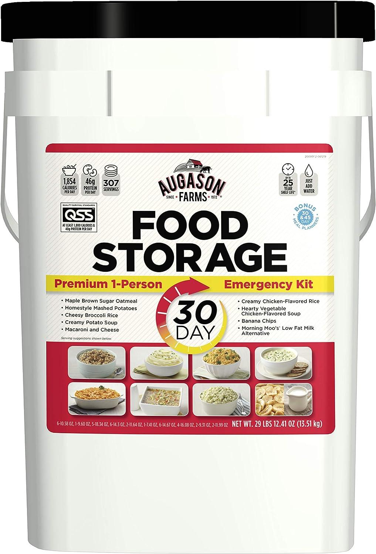 Augason Farms 30-Day 1-Person Emergency Food Supply