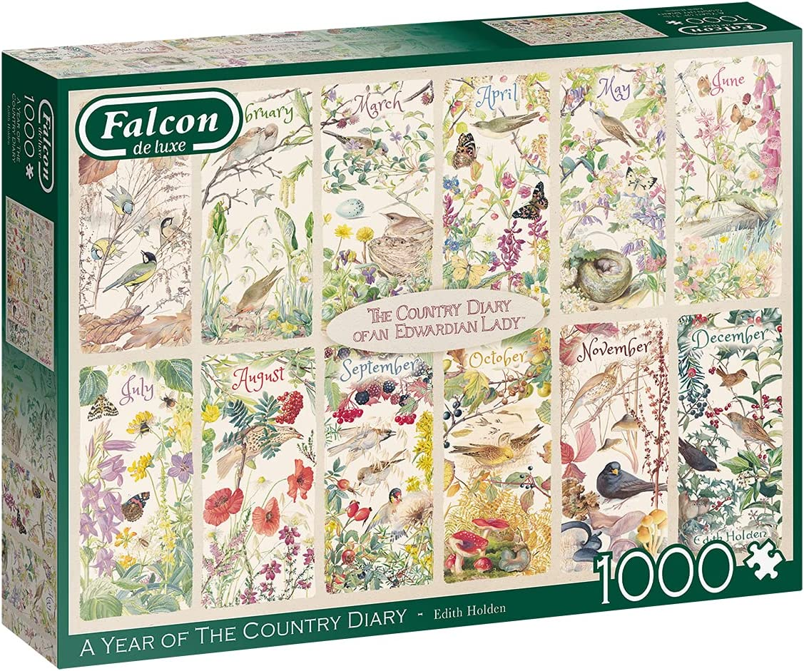 Jumbo Falcon de Luxe - A Year The Puzz Country Albuquerque Manufacturer OFFicial shop Mall of Diary Jigsaw