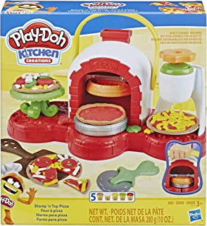Play-Doh Stamp 'n Top Pizza Oven Toy with 5 Non-Toxic...