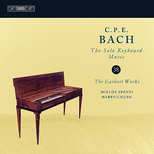 Digital Booklet: C P E  Bach: Solo Keyboard Music, Vol  38