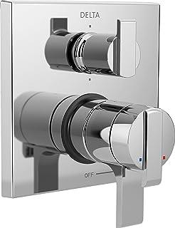 Delta Faucet T27967 Ara Angular Modern Monitor 17 Series Valve Trim with 6-Setting Integrated Diverter, Chrome