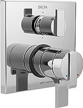 Delta Faucet T27967 Ara Angular Modern Monitor 17 Series Valve Trim with 6-Setting Integrated Diverter, Chrome,
