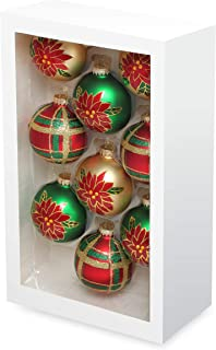 glass christmas ornaments sets