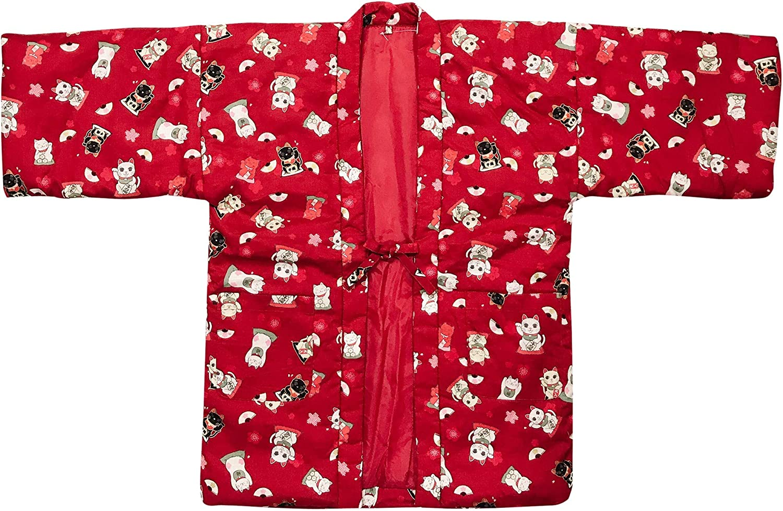 Edoten Super popular specialty store Japan sale Womens Pattern Reversible Hanten