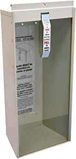 Kidde 468041 Surface-Mount 5-Pound Fire Extinguisher Cabinet