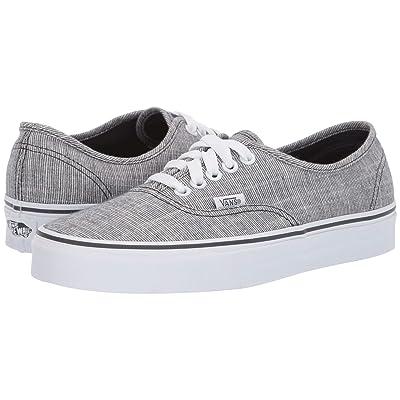 Vans Authentictm ((Chambray) Ebony/True White) Skate Shoes