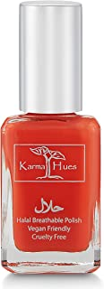 Karma Halal Certified Nail Polish- Truly Breathable Cruelty Free and Vegan - Oxygen Permeable Wudu Friendly Nail Enamel (AALEYAH)