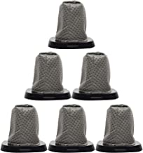 Fette Filter - 6 Pack Replacement F25 Filter for Dirt Devil - Compatible with Dirt Devil 083405 & 083460 Series Swift Stick Vacuum Style F-25 Filter Part # 2SV1102000