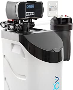 Aquasure Harmony Lite All-In-One Water Softener w/Triple Purpose Pre-Filter, 34,000 Grain, Low Maintenance, Water Saving Technology, 5-Year Warranty, US-Based Tech Support