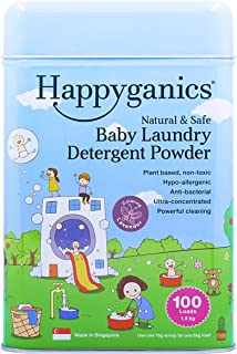 Happyganics Natural and Safe Baby Laundry Detergent Powder (Lavender)