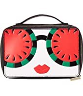 Alice + Olivia - Ally Stace Face Watermelon Zip Cosmetic Case