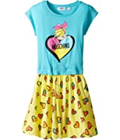 Moschino Kids - Heart Graphic T-Shirt & Skirt Set (Big Kids)