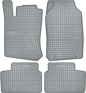 Wielganizator Całoroczne dywaniki podłogowe, szare gumowe dywaniki pasujące do: Opel Vectra B rok produkcji 1996-2001