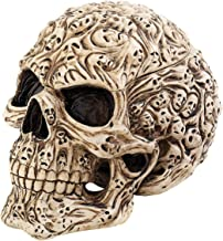 Design Toscano CL76381 Skull's Soul Spirit Sculptural Box in Aged Bone [Kitchen]