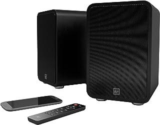 KitSound Reunion Wireless Bookshelf Speaker - Black