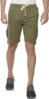 Alan Jones Men's Cotton Casual Shorts