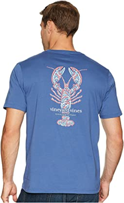 Short Sleeve Camo Lobster Pocket Tee