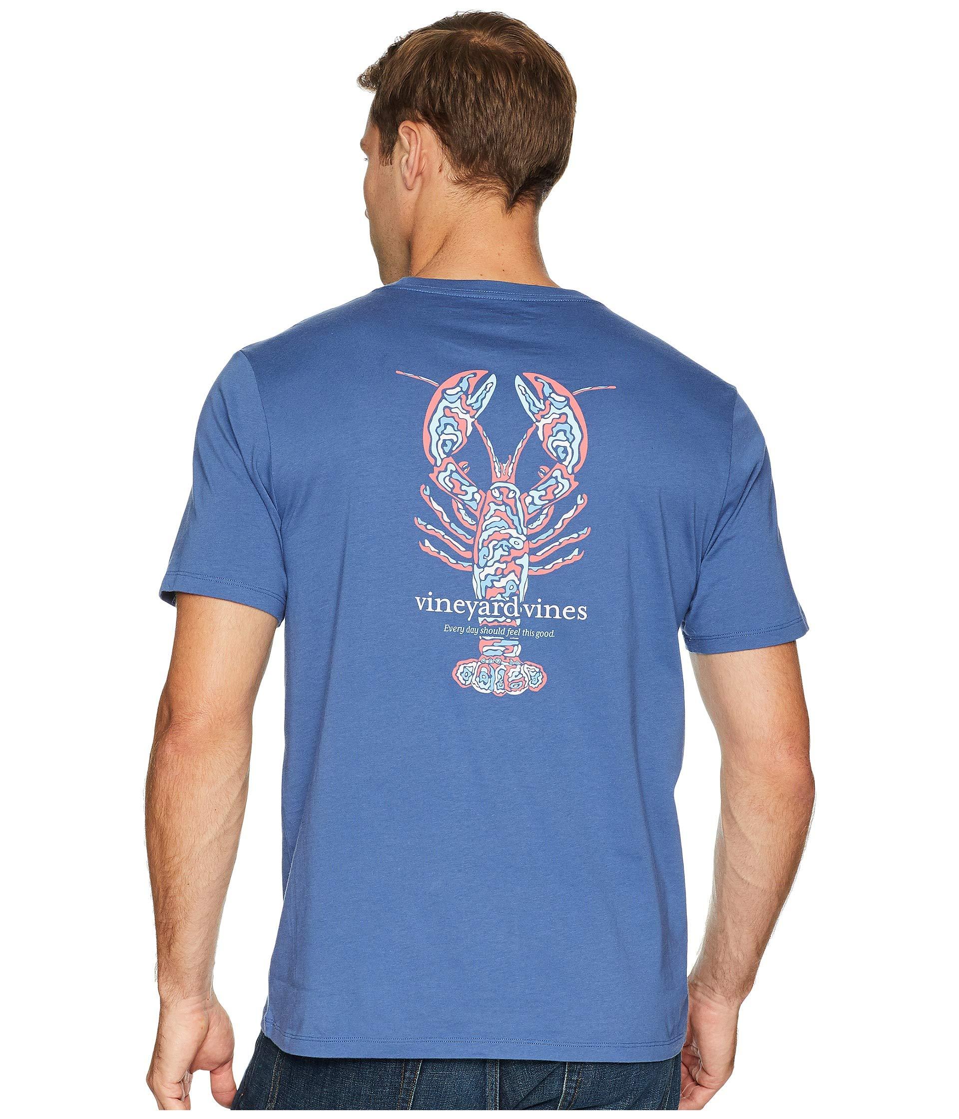 Tee Camo Sleeve Vines Vineyard Short Lobster Moonshine Pocket x8YtnqFw