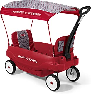 Radio Flyer 5-in-1 Family Wagon3145, Red