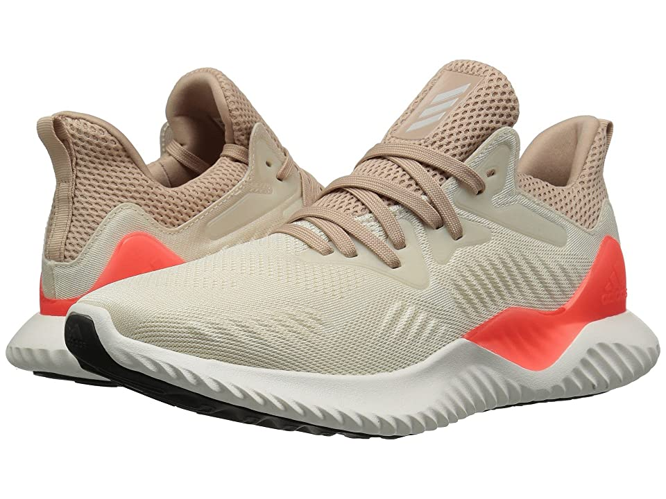 adidas Kids Alphabounce 2 (Big Kid) (Linen/Chalk White/Ash Pearl) Kids Shoes