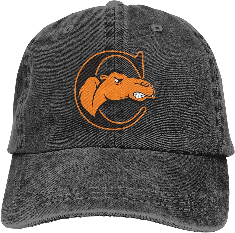 Campbell University Logo Trucker Cap Durable Baseball Cap,Adjustable Dad Hat Your Best Hat Black