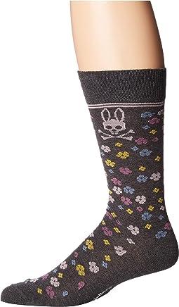 Floral Dress Socks