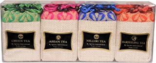 Assorted Tea Set loose leaf Green Tea Assam Tea Nilgiri Tea & Darjeeling Tea (3)