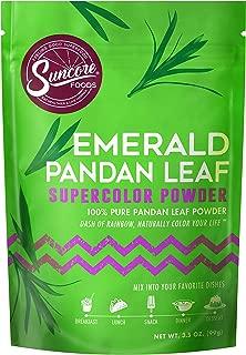 Suncore Foods - 100% Pure Pandan Leaf Natural Supercolor Powder, 3.5oz (1 Pack)