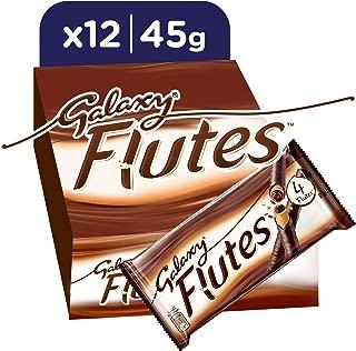 Galaxy® Flutes Chocolate Fingers, 45g x 12