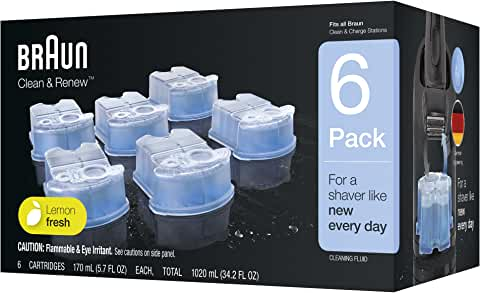 2-Pack of 6-Count Braun Clean & Renew Refill Cartridges