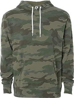 Lightweight Hooded Long-Sleeve Pullover Fleece Sweatshirt Slim-Fit Men's Hoodie