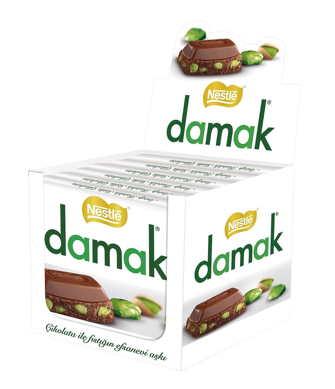 Nestle Damak Milk Chocolate with Cheap Pistachio Halal High quality new X - Mad 6 80g