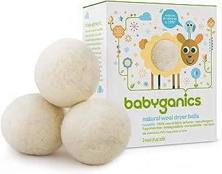 Babyganics Natural Wool Laundry Dryer Balls