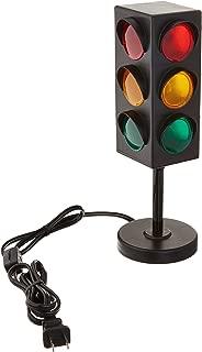 Rhode Island Novelty Eltrali 8 Inch Traffic Light Table Lamp