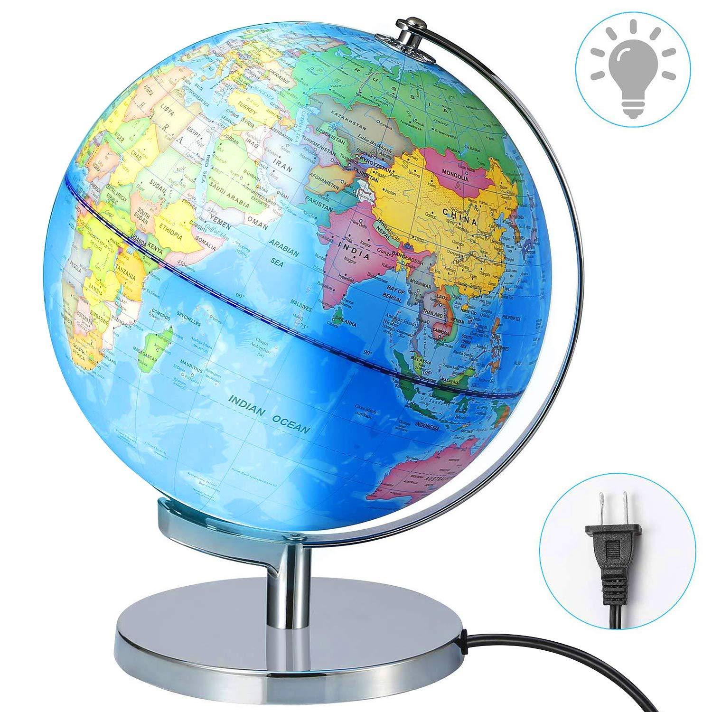 Illuminated Geographic Desktop Discovery Educational