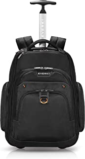 EVERKI Atlas Wheeled Laptop Backpack, 13-Inch to 17.3-Inch Adjustable Compartment, Business Professional (EKP122)