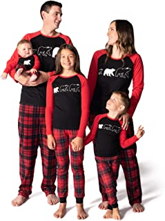 Matching Family, Mens, Womens, Kids, Infant Pajamas Set –Sizes: Infant – Adult 2XL - Bear Necessities