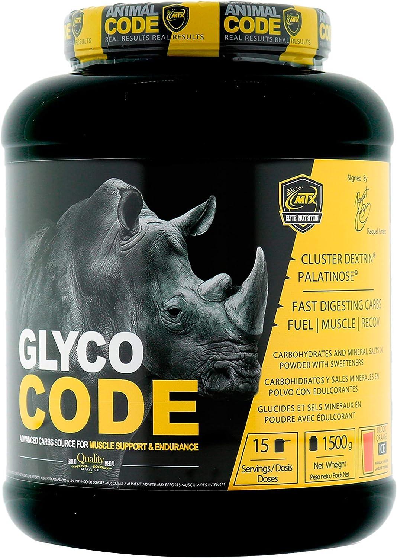 MTX nutrition GLYCOCODE [1,5 Kg] Neutro - Energía PREMIUM para rendimiento/recuperación gracias a una avanzada matriz de ingredientes mundialmente ...