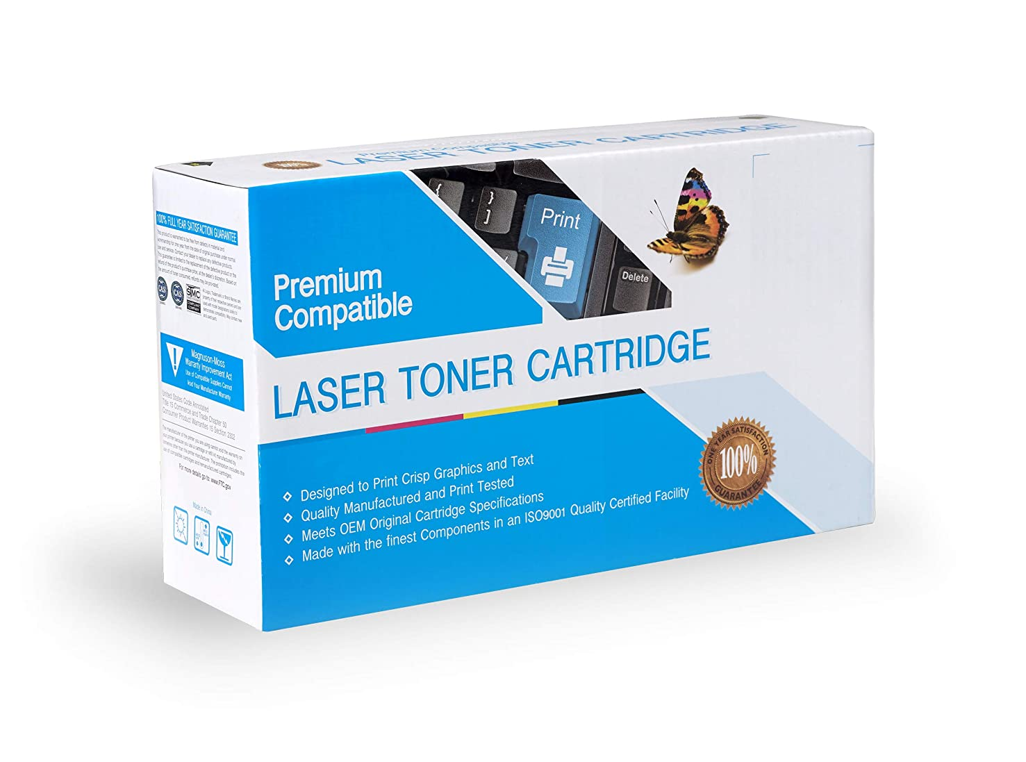 Premium Printing Products Compatible Ink Cartridge Replacement for Kyocera-Mita TK7207, Works with: TASKalfa 3510i Black
