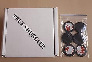True Shungite 6 Shungite Stone Mobile Phone Stickers for EMF Protection