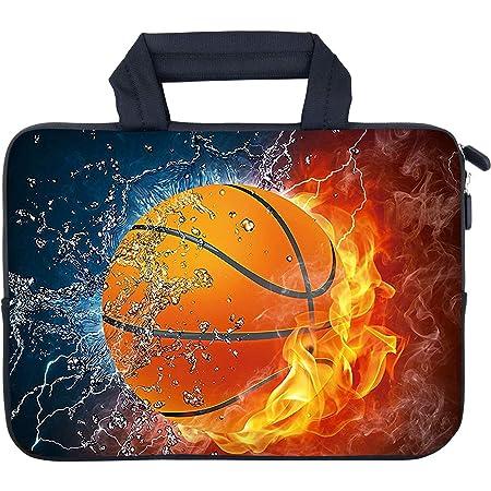 RICHEN 14 15 15.4 15.6 inch Laptop Shoulder Bag Messenger Bag Case Notebook Handle Sleeve Neoprene Soft Carring Tablet Travel Case with Accessories Pocket 14-15.6 inch, Butterflies