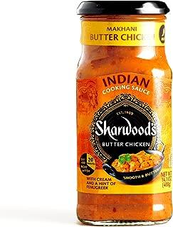Sharwoods Makhani Butter Chicken Cooking Sauce 14.1 oz each (4 Items Per Order)