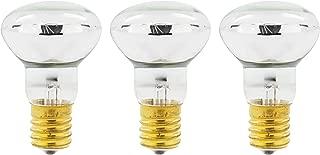 GoodBulb 25 Watt Lava Lamp Reflector - E17 Base - Lava Lamp Replacement Light Bulbs - R39 Shape - Non Dimmable - 3 Pack