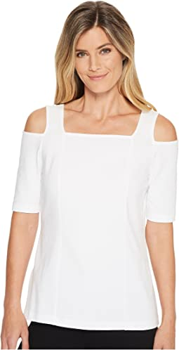 NIC+ZOE - Perfect Cold Shoulder Top