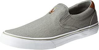 RALPH LAUREN Thompson, Men's Shoes, Soft Grey, 6 UK (40 EU)