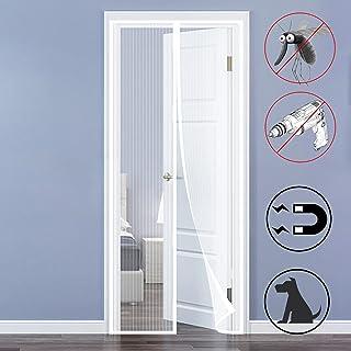 QH-Shop Mosquitera Puertas, Mosquitera Magnética Automático para Puertas Cortina de Sala de Estar